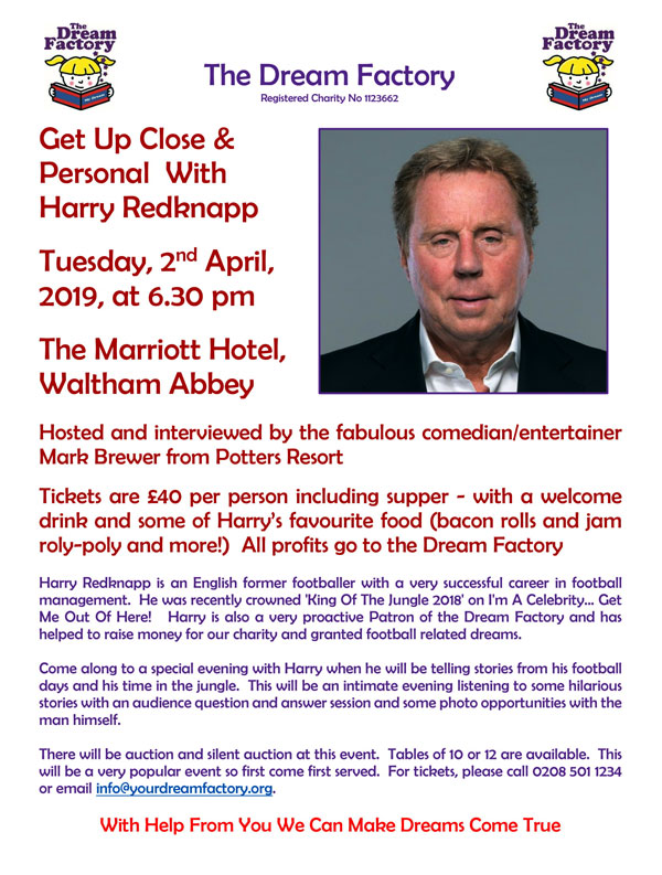 Night with Harry Redknapp
