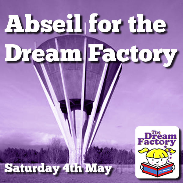 Abseil for the Dream Factory