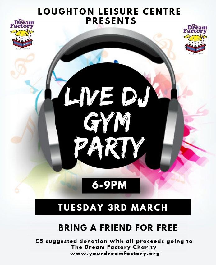 Live DJ Gym Party