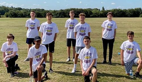 EPS school running team